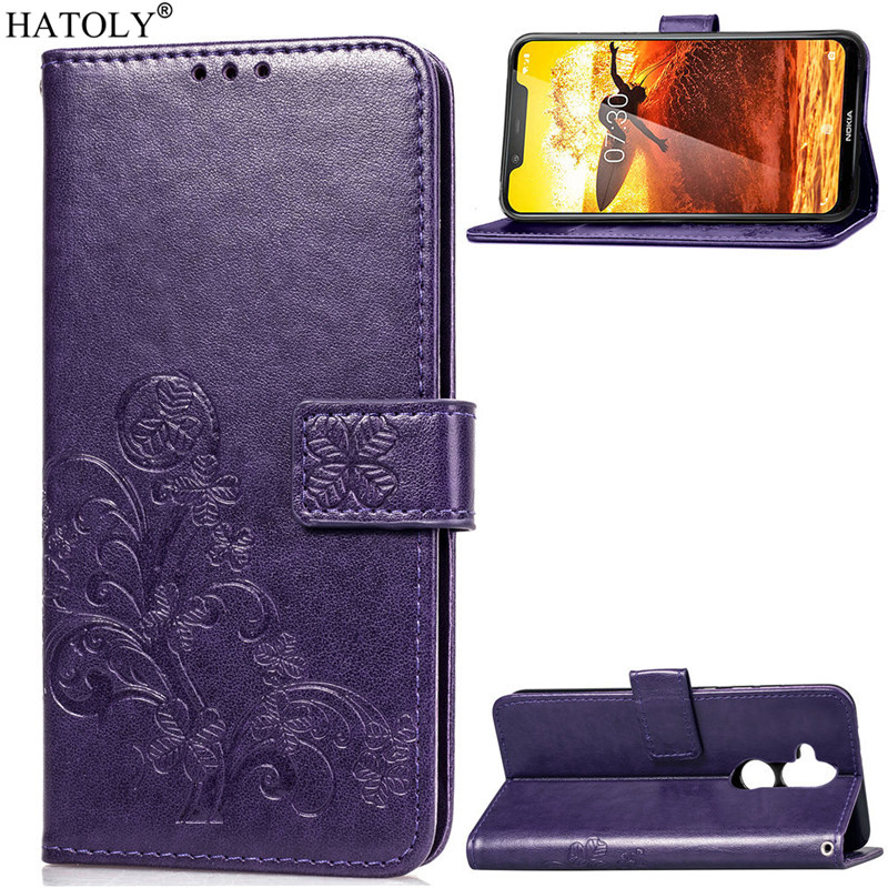 Phone Case For Nokia 8.1 / X7 Cover Flip Case For Nokia 8.1 Case Silicone Leather Wallet Phone Case Funda For Nokia 8.1 / X7