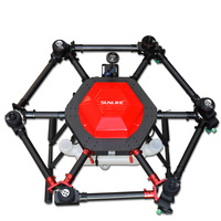 10KG 10L 6 axis carbon fiber frame foldable Agricultural Protection Drone