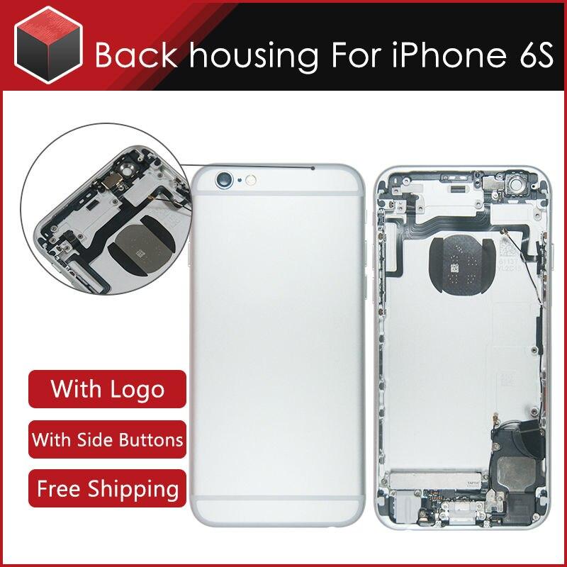 imágenes para Para el iphone 6 S vivienda A1633 A1688 A1700 Batería contraportada asamblea Reemplazo completo con 3 color envío gratis