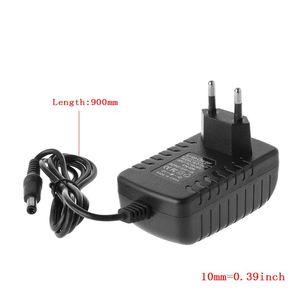 Image 2 - Cargador de batería de litio 12,6 V 2A 18650 con enchufe europeo y estadounidense, cargador portátil de corriente constante de 5,5 MM x 2,1 MM