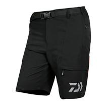 Daiwa Fishing Clothing Men Summer Short Pants Quick Drying Fishing Clothes for Outdoor Sports Fishing Camping Hiking Hunting