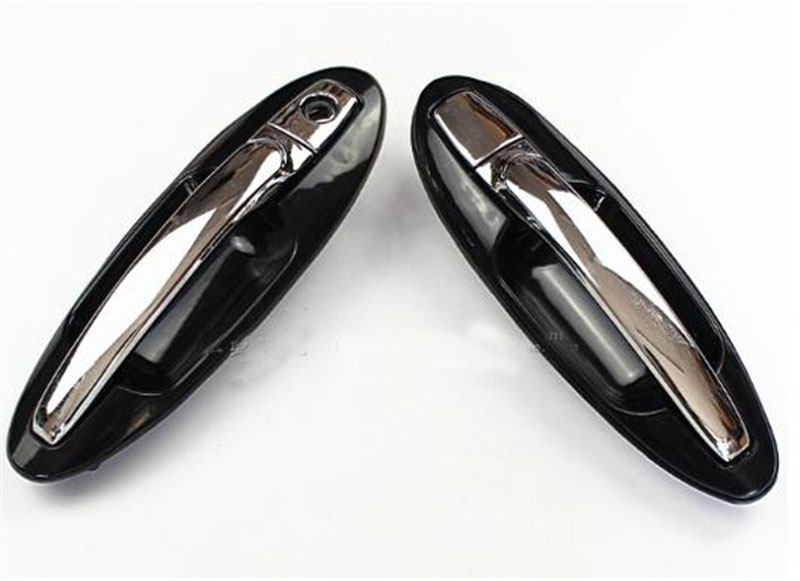 4PCS electroplate Bright color OUTSIDE DOOR HANDLE FOR HYUNDAI old Sonata outside Handle Top quality car