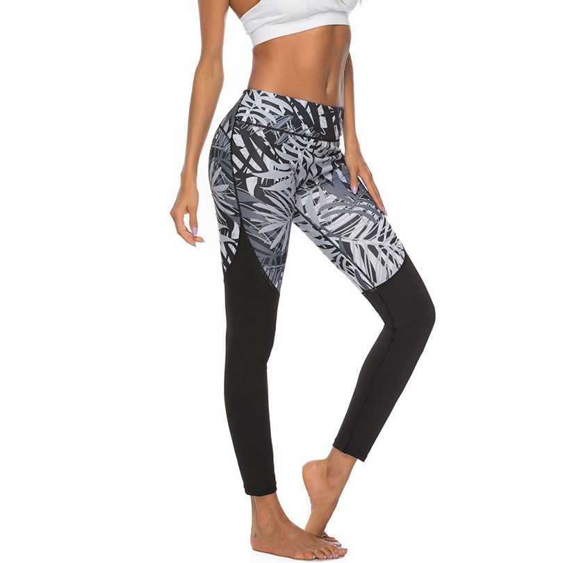 Sexy Print Push Up Women Leggings High Waist Bandage Workout Elasticity Female Leggings Spandex Run Pants Fitness Sports Clothes in Leggings from Women 39 s Clothing