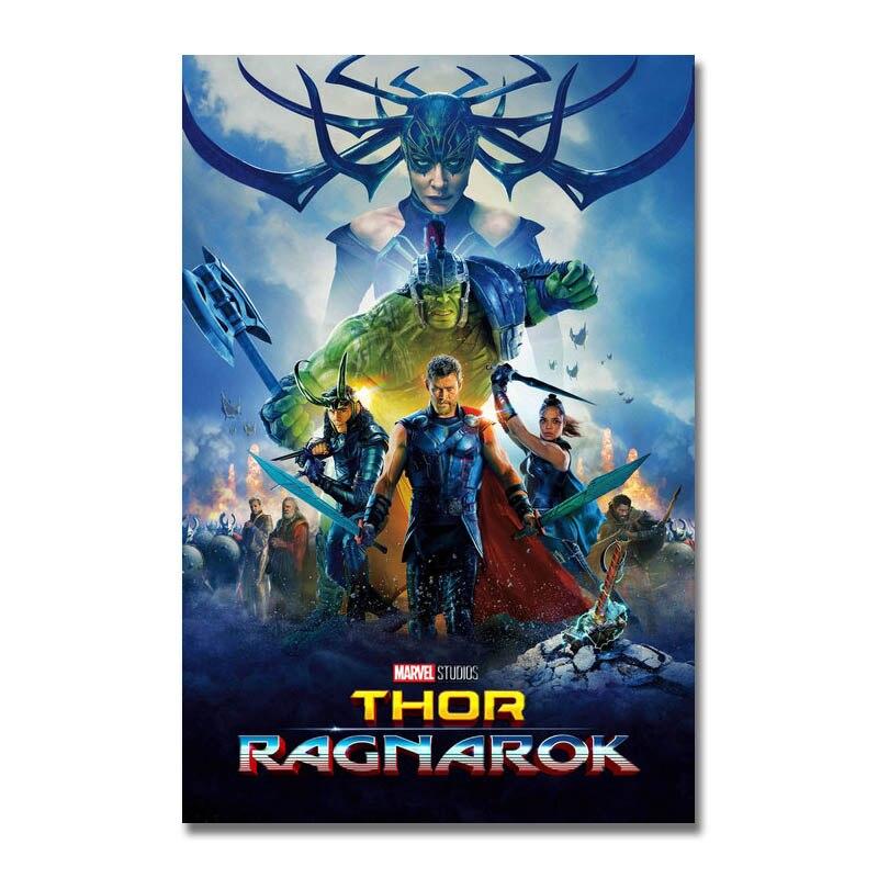 Thor Ragnarok Movie Art Silk Canvas Poster 13x20/'/' 32x48/'/' Home Decor