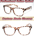 Leopardo O partido necessário compras Custom made lentes ópticas Óptico óculos de leitura + 1 + 1.5 + 2 + 2.5 + 3 + 3.5 + 4 + 4.5 + 5 + 5.5 + 6