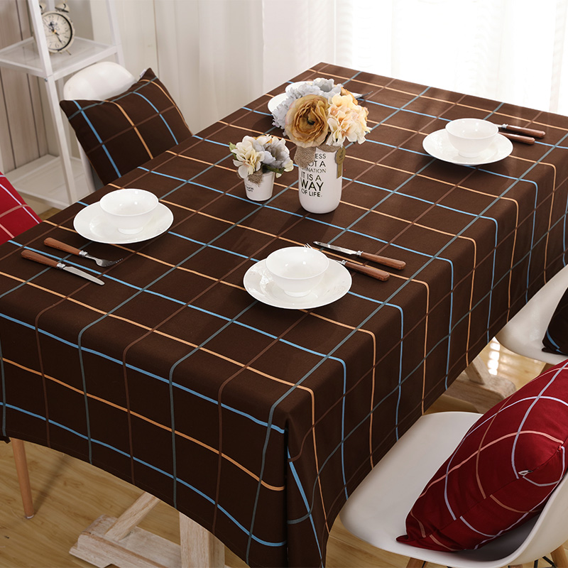popular coffee table cloth cover-buy cheap coffee table cloth