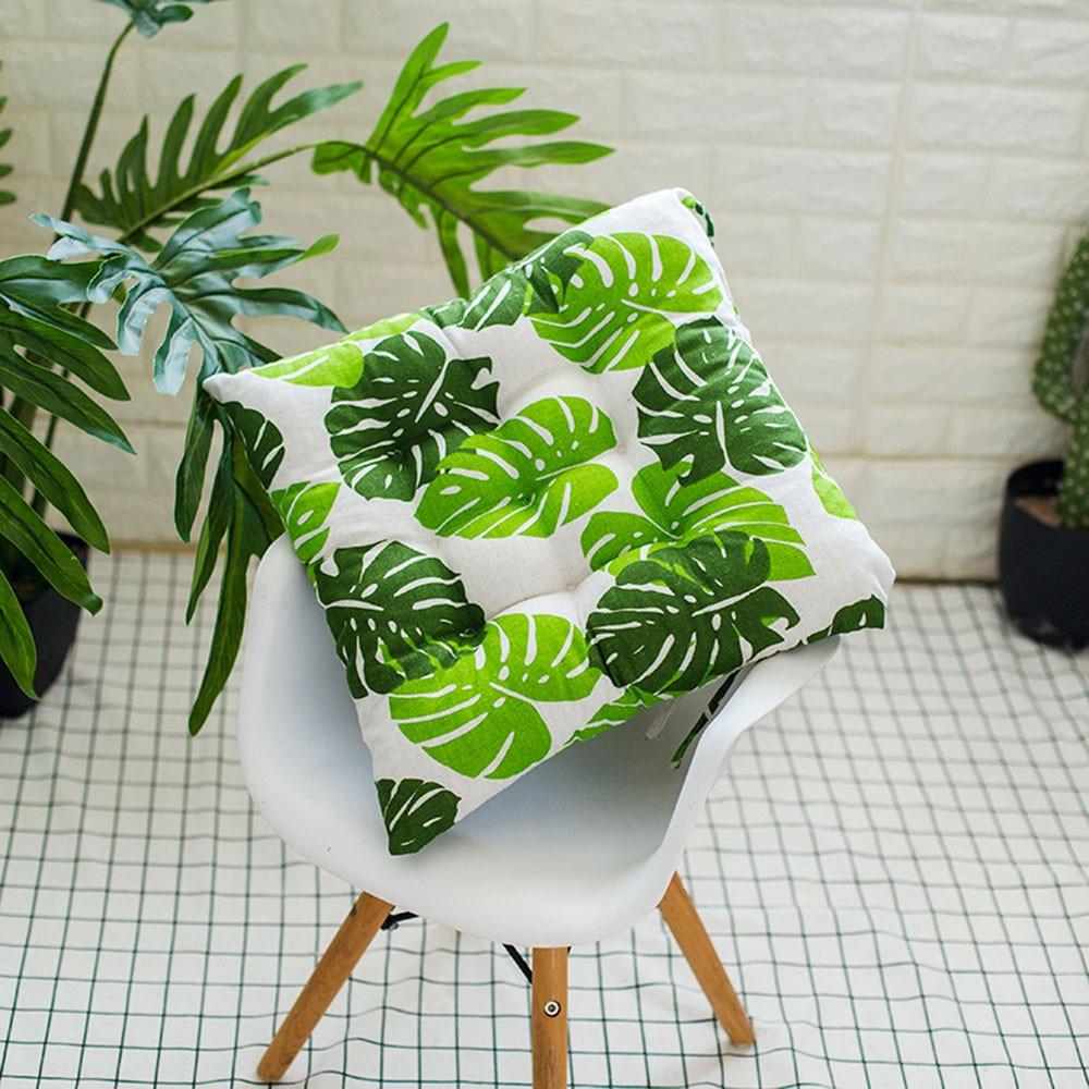 Outdoor Garden Patio Home Kitchen Office Sofa Chair Seat Soft Cushion Pad Cotton 400 X 400 X 50mm Green Leaf Seat Cushion 2019