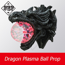 999PROPS Dragon Plasma Ball Prop escape room supplier touching ball for certain time to unlock several trigger methods