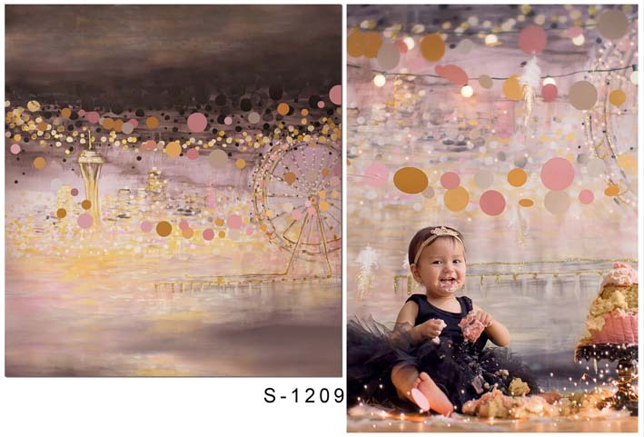 LIFE MAGIC BOX Photo Studio Backdrop Background Newborn Photography Props Baby Shower Wind Mill CMS-1209 drawer box transparent box stage easy to do magic tricksperformance magician props illusion props 83137