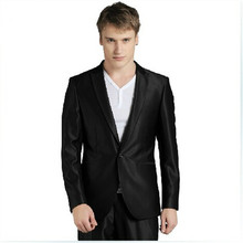 Men's fashion suits high qulity new men's wedding suits two-piece business cultivate one's morality mens suits(jacket and pants)