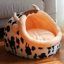 HERMOSO 2018 cama cálida para perros casa para mascotas suave cama para mascotas, perrera perrito cojín cálido cesta moda animales coloridos forma 007 HERMOSO
