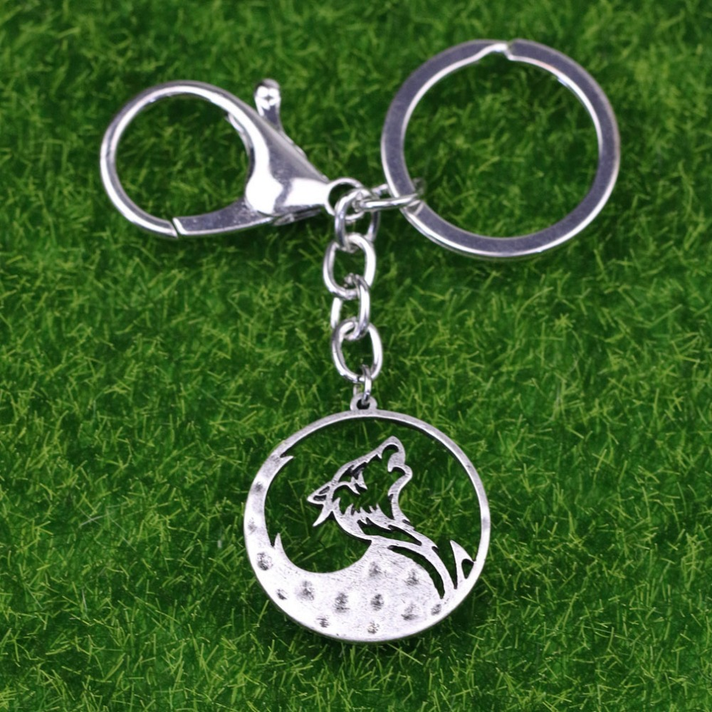 Tkuamigo Metal Inspired Nordic Viking Wolf keychains Wolves Memorial anniversary Vikings Gifts for Him Wholesale A224-in Key Chains from Jewelry ...