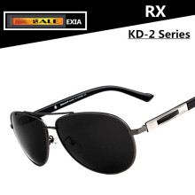 Polarized Sunglasses Men with Optical Lenses UV400 Anti-Reflective Coating HMC EXIA OPTICAL KD-2 Series
