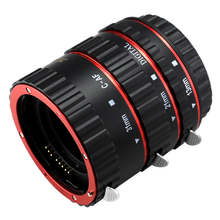 SHOOT Автофокус Макрос Удлинитель Набор для Canon EOS EF EF-S DSLR объектив Камеры 1100D 700D 650D 600D 550D 500D 450D 400D 350D