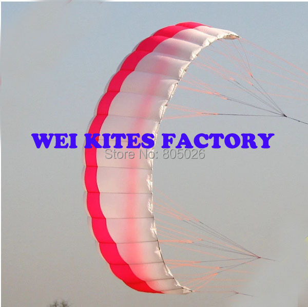 free shipping high quality 3 square meters quad line Stunt  Power kite boarding kite surfing albatross kites wei kites factory