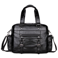 Alena Culian Brand Men's Leather Travel Bag Large Capacity Men Short Trip Luggage Bags Casual Weekend Bag For Male Hot Sale