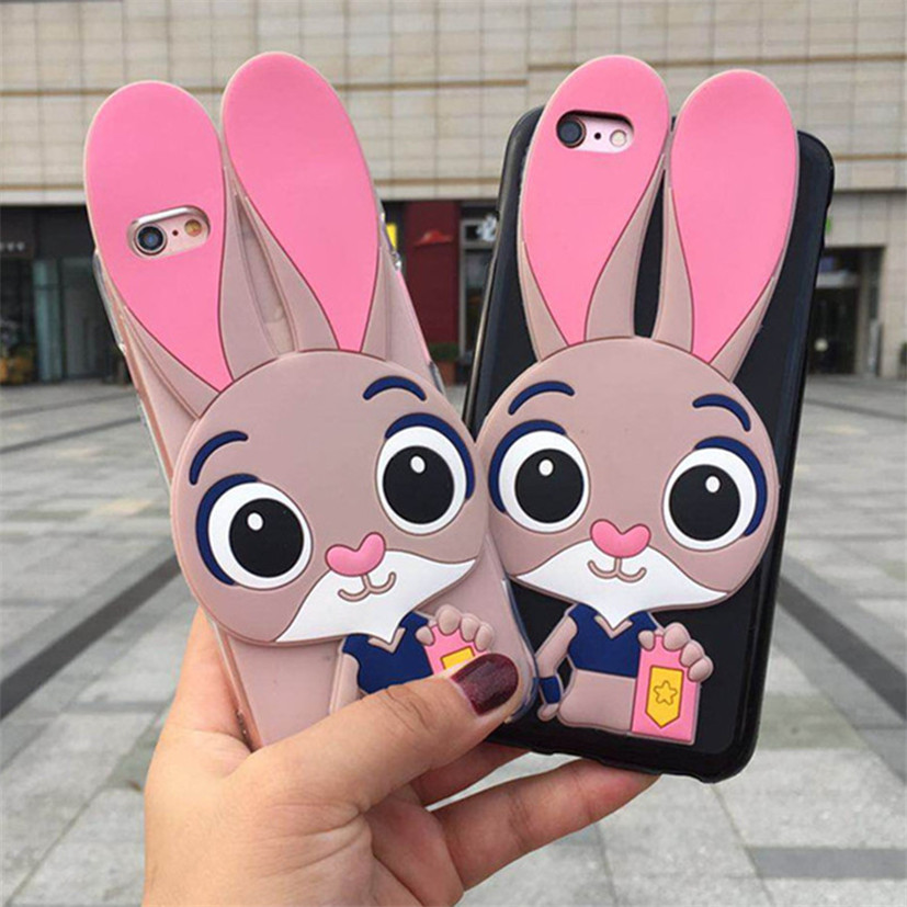 3D Cartoon Soft Silicone Case For Google Pixel 2 XL Rubber Silicon Cover For Google Pixel 2 XL Shell Phone Cases