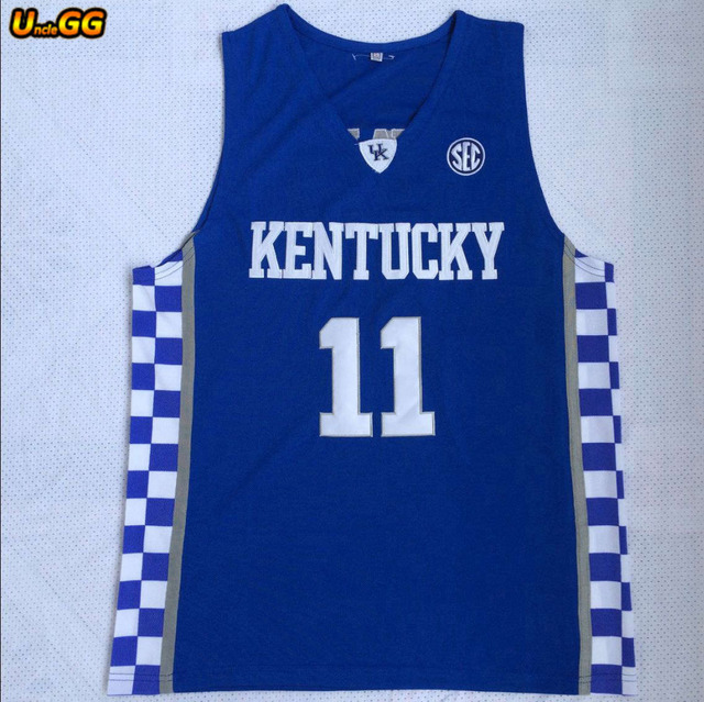 22473b3edbd ... cheap uncle gg 11 john wall kentucky wildcats basketball jerseys cheap  wholesale college john wall jersey