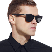BRAND DESIGN Classic Polarized Sunglasses Men Women Driving Square Frame Sun Glasses Male Goggle UV400 Eyewear