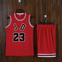 Adsmoney Men Basketball team star jersey children throwback jerseys basketball suit USA team training jersey suit
