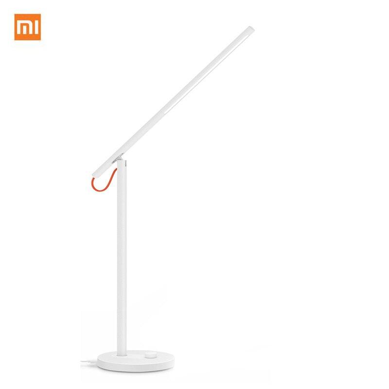 imágenes para Venta caliente Xiaomi Mijia Desklight LED Lámparas de Mesa Lámpara de Escritorio Inteligente soporte de Teléfono Inteligente App Control 4 Modos de Iluminación Con KC IEC BSM