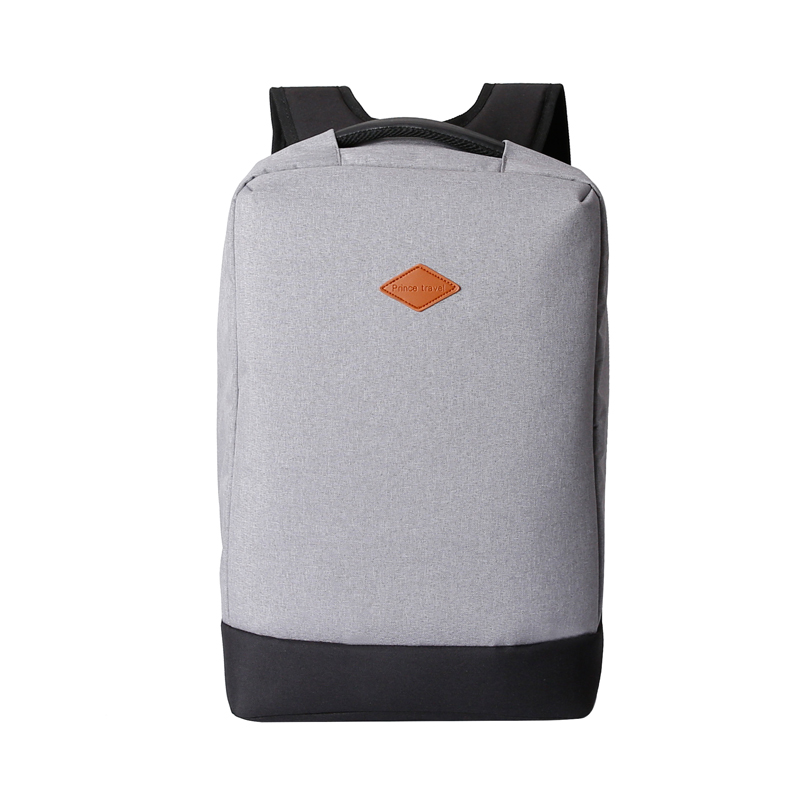 Hidden Zipper Design Theftproof Backpack Box Structure Large Space Computer Package for Tablet Notebook PC Business Trip Spare