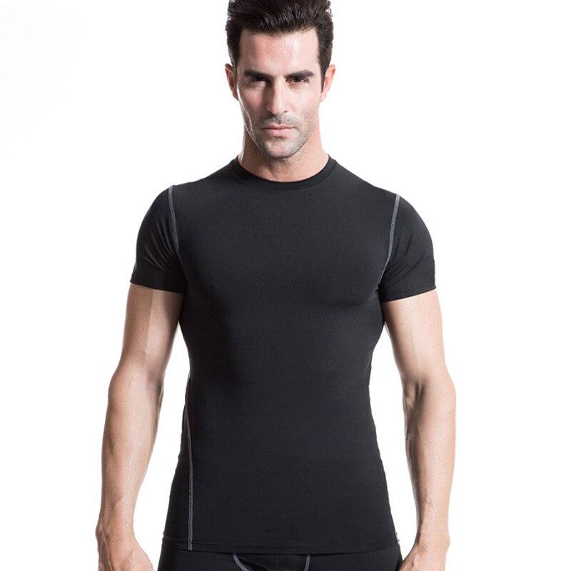 TOIVOTUKSIA Men s Gym Men quick dry T shirts Male Gym Men Fitness Sport T shirt
