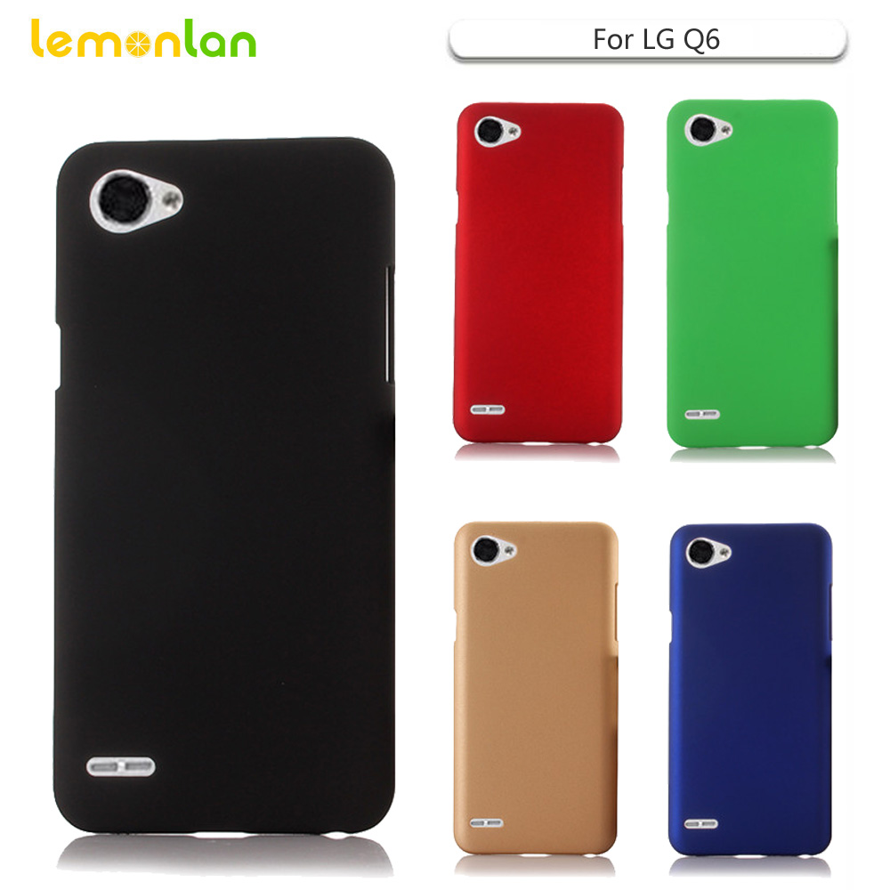 Lemonlan For LG Q6 Case Slim Hard Back Plastic Matte Back Mobile Phone Cover for LG Q6 Plus Q6+ M700N M700 5.5inch Capa Shell