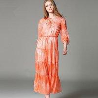 Top Fashion Women Dress High Quality Openwork Crochet Brand Chiffon Dresses 2016 Summer Dress European Style