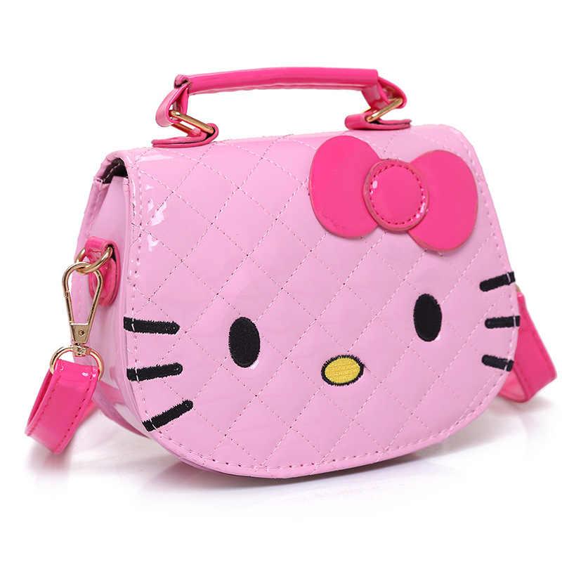 99c42a89c89e Hello kitty Детская сумка модная для девочек Сумочка качество PU детский  сад аксессуары wiscol