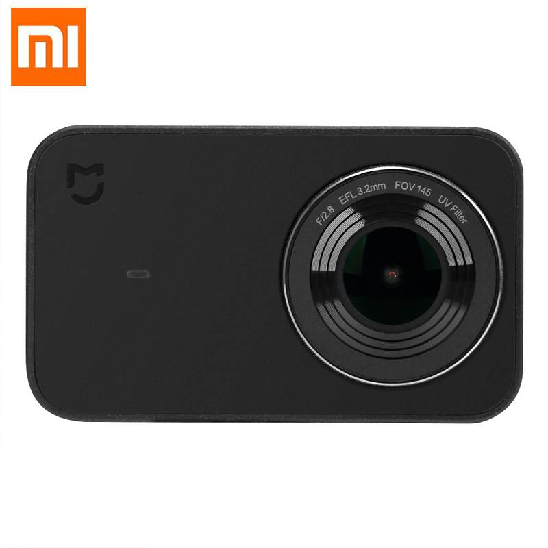 Xiaomi Mijia Mini Portable 4K Action Camera 2.4inch Touch Screen 7p Lens EIS 6-axis 145 Degree Wide Angle Sport Video Recording