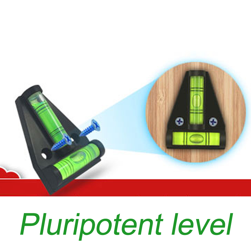 Przyrządy do pomiaru poziomu HiDANCE Trójkątny Plastikowy - Przyrządy pomiarowe - Zdjęcie 4