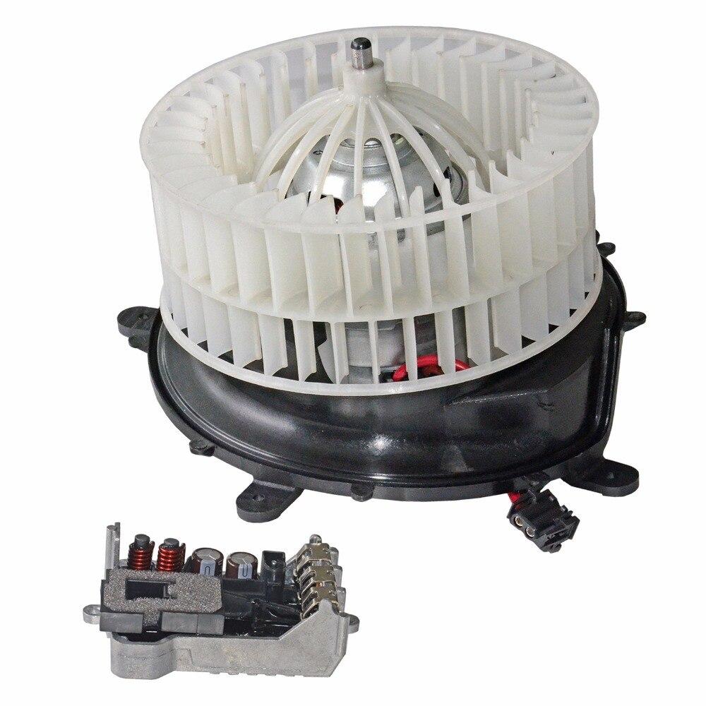 AP02 A/C Heater Blower Motor + Regulator Resistor For Mercedes W220 W215 2208203542 2038214058
