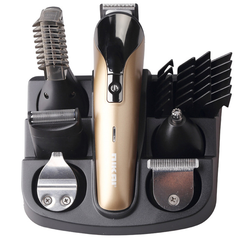 ФОТО 6 In1 Hair cutting machine hair clipper Hair trimmer the beard trimmer machine for trimming barber haircut machine