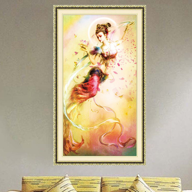 DIY Fairy 5D Diamond Embroidery Painting Cross Stitch Craft Home ...