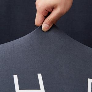Image 5 - Parkshin ファッション手紙弾性ソファカバータイトなラップオールインクルーシブソファリビングルーム断面ソファカバー用カバー
