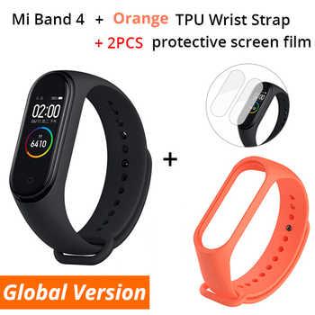 Xiaomi Smart Wristbands Add Orange Strap