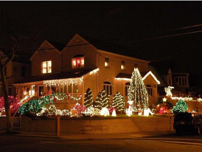 Jule led stripe Light Salt Vanndrevet LED String Lampe 12M 100LEDs - Ferie belysning - Bilde 5