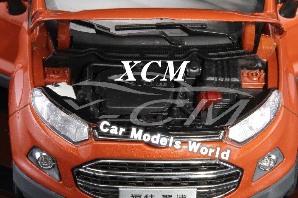 Odlany model samochodu dla Ecosport 1:18 (pomarańczowy) + mały prezent!!!!! w Odlewane i zabawkowe pojazdy od Zabawki i hobby na  Grupa 3