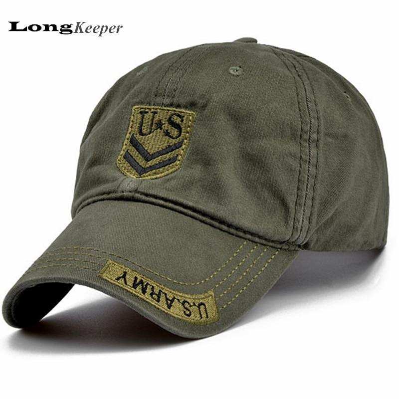 Classic Mens Us Army Camo Baseball Caps Women Men Tactical