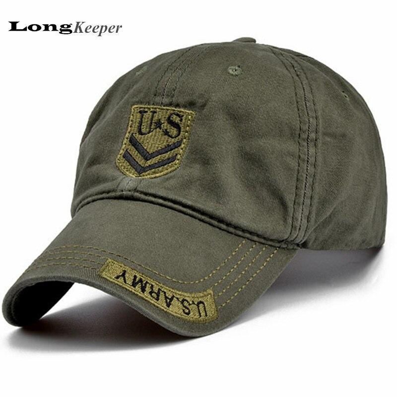 LongKeeper Classic Mens US Army Camo Baseball Caps Women Men Tactical Hats Cotton Peaked Caps Top Quality AA02 электрический духовой шкаф bosch hbg43t350r