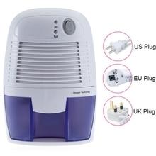Home Appliance Portable Mini Dehumidifier Electric Quiet Air Dryer 100V 220V Compatible Air Dehumidifier for Home