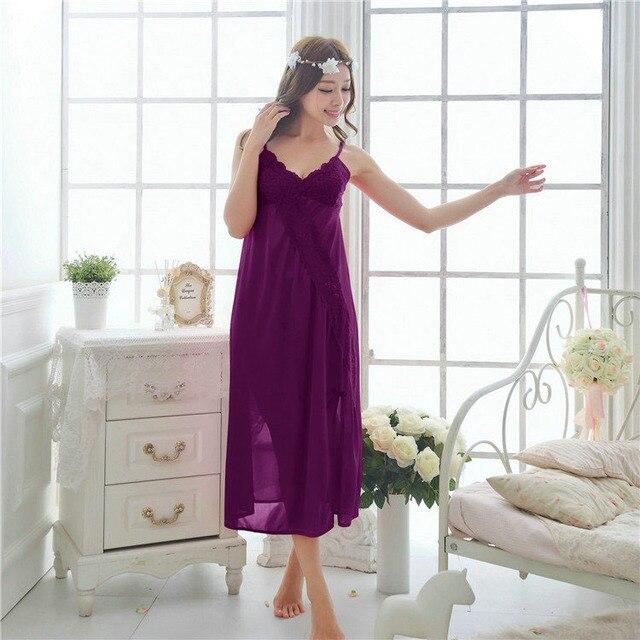 Siriusha Longa camisola feminina sexy rendas de seda como longo inverno vermelho preto e branco grande código