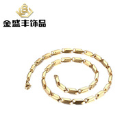 3 4 5MM With Chain Accessories Fashion Men S Necklace Jewelry Stainless Steel Plating Gold Chain