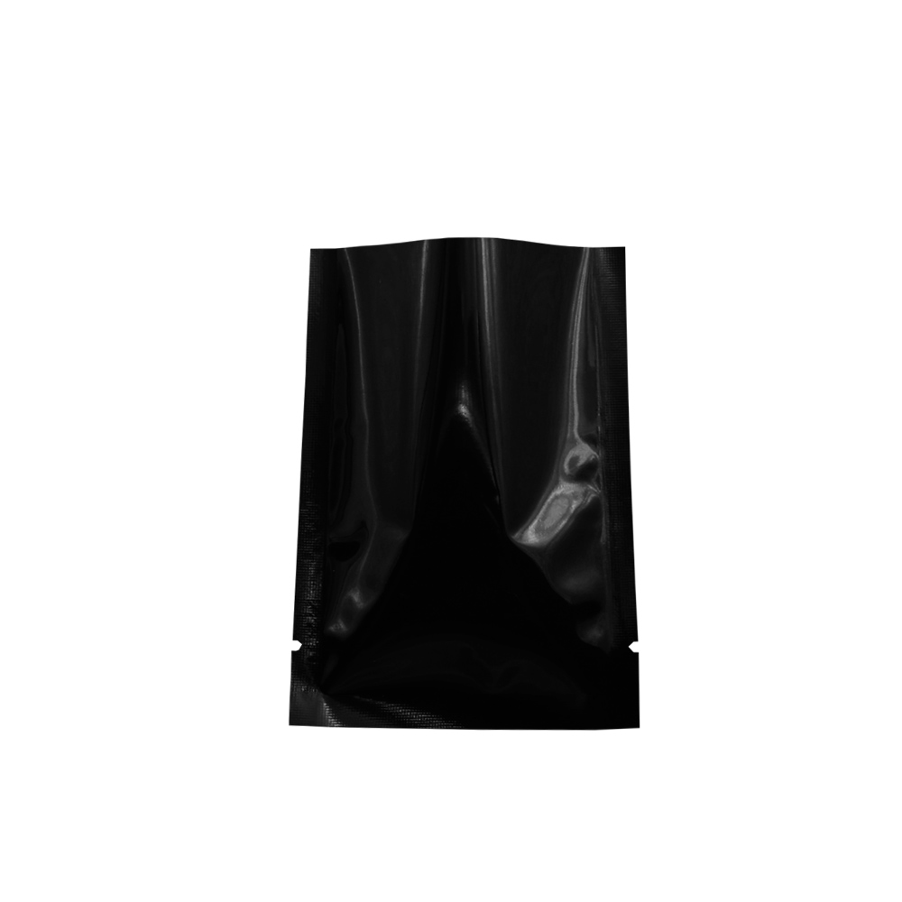 12 18cm 4 7 39 39 x7 1 39 39 Black Mylar Foil Packing Storage Vacuum Bag 100pcs lot Heat Seal Open Top Food Package Aluminum Foil Pouch in Storage Bags from Home amp Garden