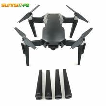 Sunnylife DJI Mavic Air Drone Landing Gear Skid 3D Printed Landing Leg 7cm Heighted Stabilizer 4pcs for Mavic Air Accessories hml650 650 retractable carbon fiber landing gear skid for s550 tarot 650 hml quick install