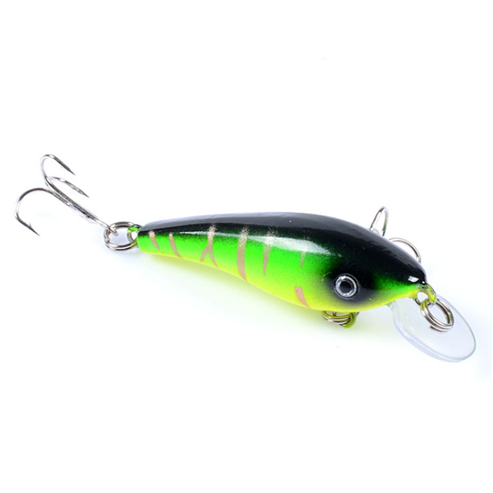 1pcs Floating Minnow Fishing Lure 5.7cm 4.5g Top Water Bass Pike Artificial Hard Bait Fake Plastic Fish Fishing Tackle Pesca