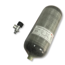 Acecare 12L compressed air carbon fiber cylinders 4500PSI with air valve