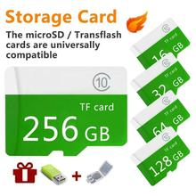 High speed green Large-Capacity Micro-SD Micro Memory Card 4G 8G 16G 32G 64G 128G 256G 512G Class 10+Sd-Tf For Mobile / PC CH mi sandisk high speed micro sd tf card w sd adapter 8gb class 6