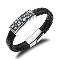 Sieraden gemengde partij Taobao explosie modellen overheersend jongens hand sieraden armband schedel knappe PH941